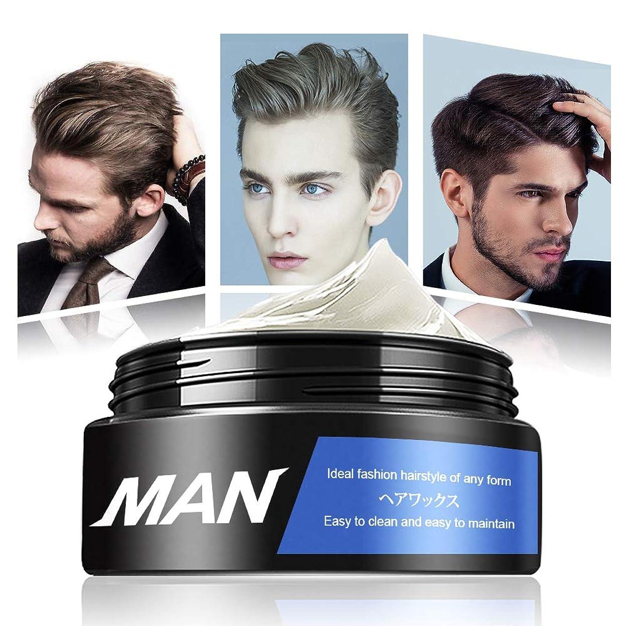 粘着性円周残酷なヘアワックス クリームワックス 香り メンズ 大容量 100g