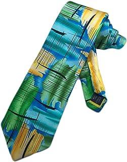 5116000b9c85 Jerry Garcia Mens Grateful Dead Necktie - Multicoloured - One Size Neck Tie