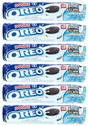 Oreo Cookies - Double Stuff (157g) - Packung mit 6