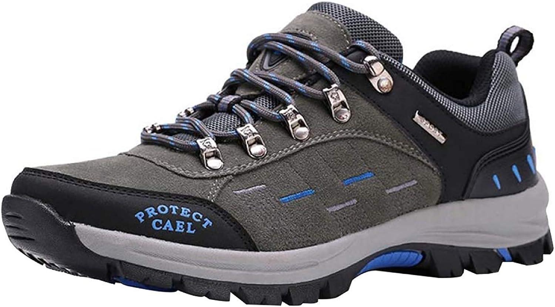 Fuxitoggo Männer Wanderschuhe Stiefel Leder Wanderschuhe Turnschuhe Für Outdoor Trekking Training Beiläufige Arbeit (Farbe   11, Größe   42EU)  | Nutzen Sie Materialien voll aus