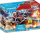 PLAYMOBIL Stuntshow 70554 Kart antincendio, Para niños de 4 a 10 años