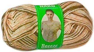 Nako Breeze Multi Colour No.85909 Crochet and Knitting Yarn
