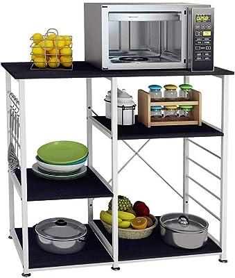 Amazon.com: WGYDREAM - Carrito de cocina con 3 capas de ...