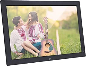 Andoer 18.5 Inch Digital Picture Frame 1366x768 High Resolution Digital Photo Frame with Remote Control and Motion Detection Sensor Support Audio Video Playing Clock Alarm Calendar Functions