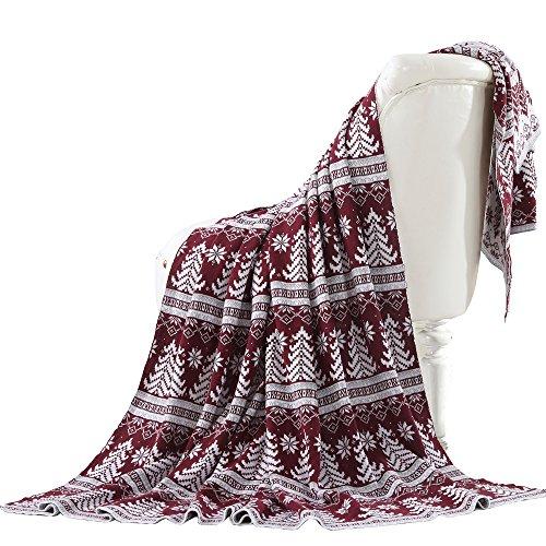 Amrapur Overseas 5THWTRKNT Throw Blanket, Tree