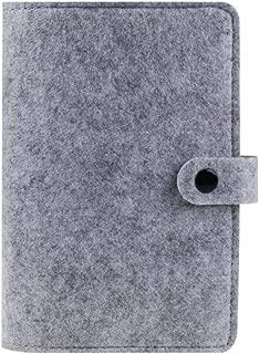 PP Cover Notebook Ordner 6 Löcher Ringbuch Spiral A4 A5 A7 Nachfüllba!E