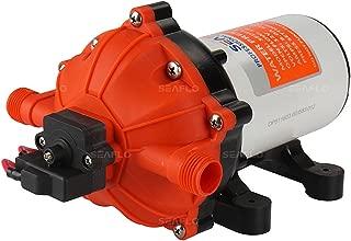 SEAFLO 12V Water Pressure Diaphragm Pump 5.5 GPM 60 PSI for Boat Marine RV Caravan Industrial