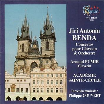 Jĭrí Antonín Benda: Concertos pour clavecin et orchestre