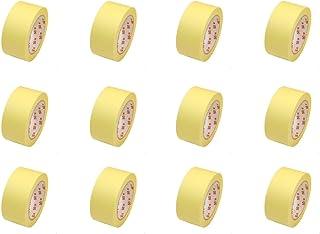 12 Rollen Flachkrepp Abklebeband Malerkrepp Malerband 50mm x 50m bis 60°C EUR 0,04 / m