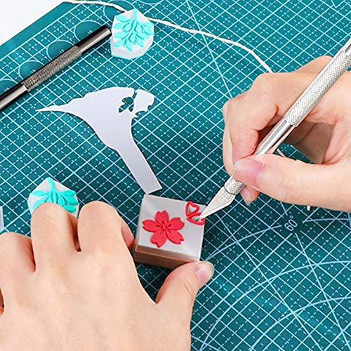 21 Pcs Craft Tools Set, Vinyl Weeding Tools, Craft Basic Set, Craft Vinyl Tools Kit for Silhouettes/Cameos/Lettering/Cutting/Splicing