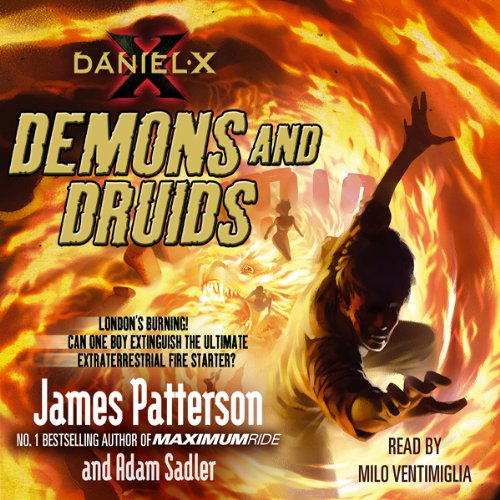 Daniel X: Demons and Druids audiobook cover art