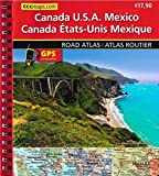 North America road atlas huber
