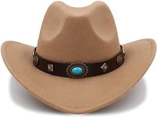 Ruiyue New Western Cowboy Hat Outdoor Big Brim Caps Solid Jazz Hats Dropshipping For Women Men