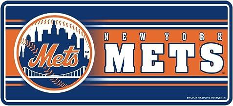 مغناطيس ثلاثي الأبعاد بشعار فريق نيويورك ميتس التابع لدوري البيسبول الرئيسي، 20.32 سم