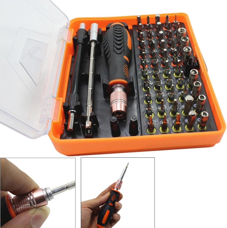 Mehrzweck-Präzisions-Schraubendreher-Set, Y56 New 53 in 1 Multi-Bit Torx Schraubendreher Pinzette Phone Repair Tool B07BFTZ31R | Preisreduktion