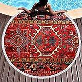 Lfff IR-an Persa Oriental IR-anian Étnico Tribal Tradicional Microfibra Piscina Playa Lanzamiento Rápido Secado rápido Delgado Yoga Picnic Alfombra Alfombra