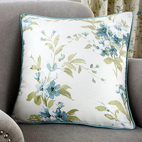 Fusion - Jeannie - Cushion Cover - 43x43 cm, Duck Egg Blue