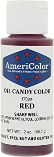 Americolor Candy Oil Food Color, 2-Ounce, Red