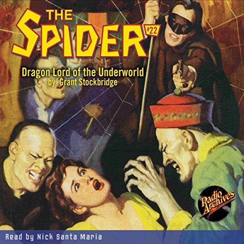Spider #22 July 1935 (The Spider) audiobook cover art