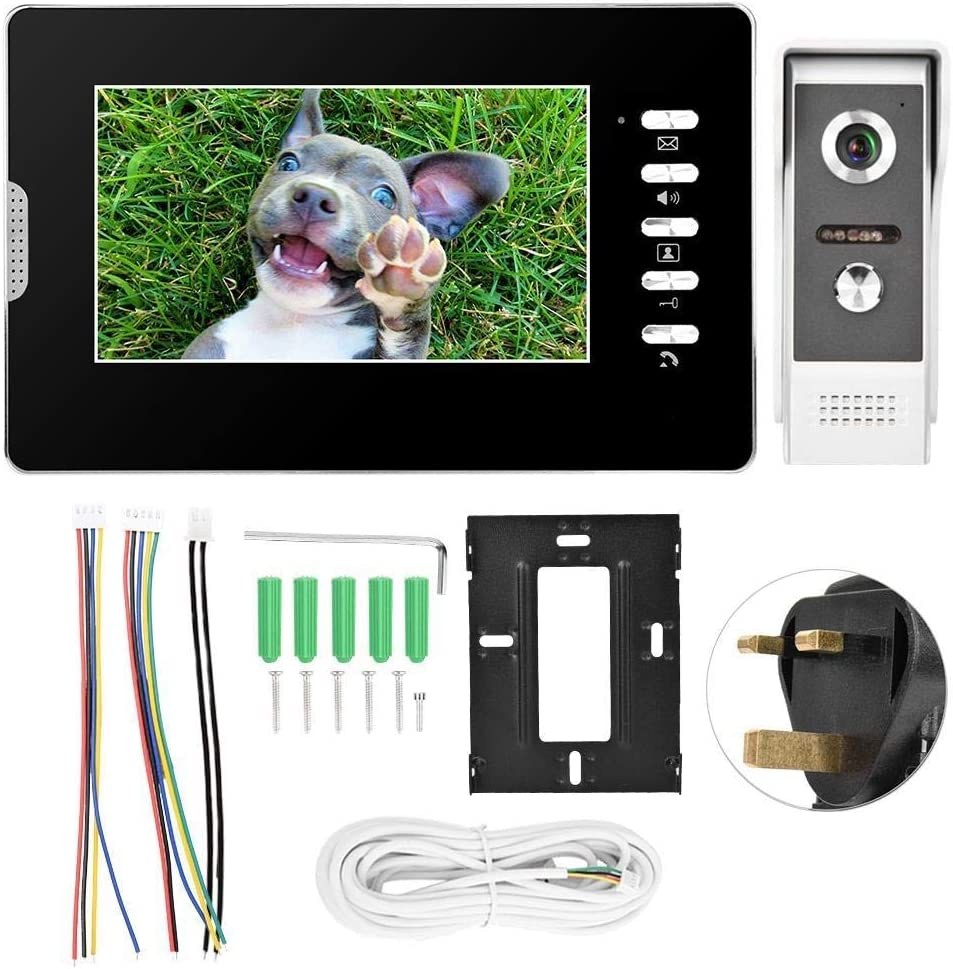 ZXY-NAN 7 Inch Video Intercom Access Doorbell Villa Manufacturer regenerated product New mail order Visual Home