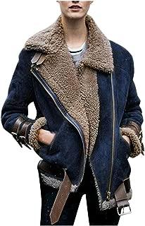 Winter Women Jacket Faux Fur Fleece Coat Outwear Warm Lapel Biker Motor Overcoat DongDong