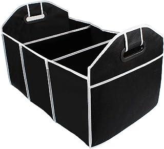 LIOOBO Organizador de porta-malas, organizador dobrável para bagageiro de carro, caixa de armazenamento dobrável