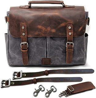JFZS Multifunktions Canvas Motorradtasche Seitentasche Satteltaschen Schulter Umhängetasche (1 Taschen) 36 * 27 * 12 5 cm,Grey