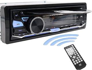 Radio para el coche de Hengweili, DIN, 12 V, reproductor de CD DVD /Bluetooth / Radio MP3 / USB / SD / AUX / FM