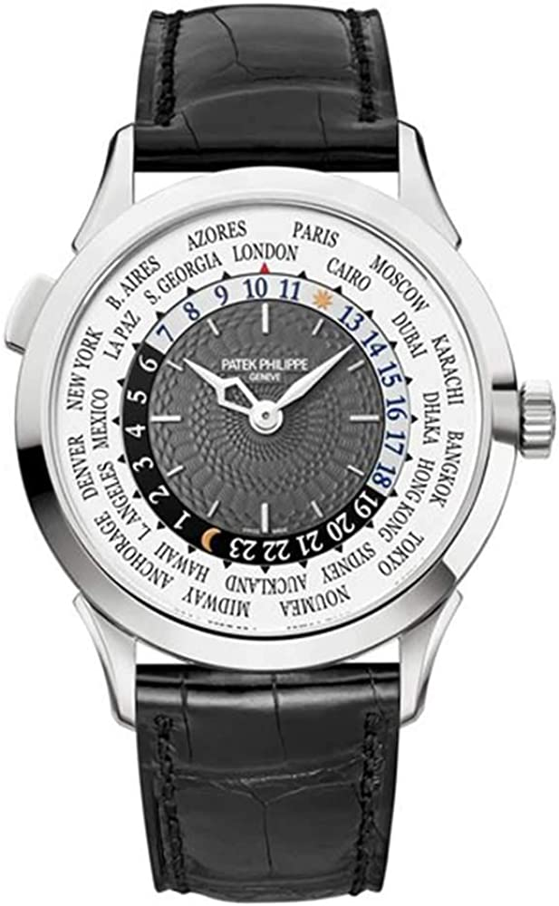Patek Philippe Complications 18K White Mens Year-end Factory outlet annual account Gold Automatic Watch