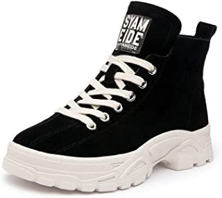 Genuine Leather Women's Winter Boots Plush Warm Platform Sneakers 2018 Fashion Boots Martin Shoes