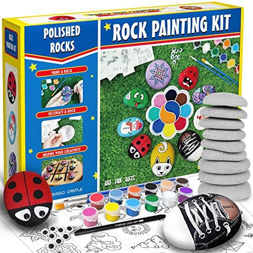 Bingo Castle Rock Painting Kit - Big...