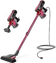 MOOSOO Vacuum Cleaner Corded Stick Vacuum with HEPA Filter 16Kpa Powerful Suction 2 in 1 Handheld Vacuum for Hard Floor
