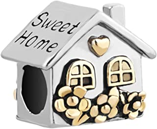 House Charms Sweet Home Love Family Beads For Charm Bracelets