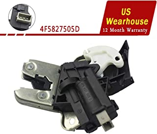 FOLCONROAD Rear Trunk Lid Lock Latch fit for VW Passat Jetta Audi A4 A6 A8 2003-2013[US Warehouse]