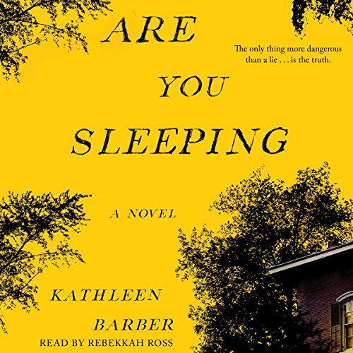 Are You Sleeping audiobook cover art