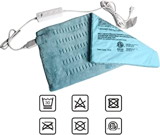 King Size Heating Pad for Back/Waist/Abdomen/Shoulder Pain Relief- 12