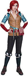 Miccostumes Women's Triss Merigold Cosplay Costume Outfit