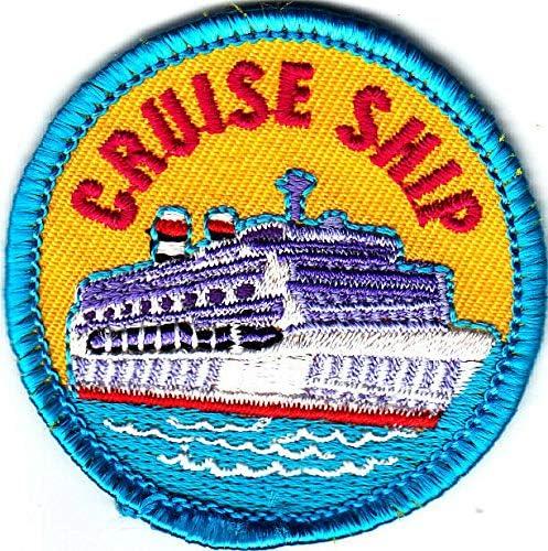 CRUISE SHIP Iron Sale item Luxury goods On Patch Vacation Cruising