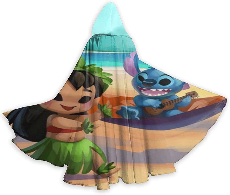 Unisex S-titch Hooded Halloween Wizard Robe Costum Ranking Ultra-Cheap Deals TOP2 Cloak Cosplay