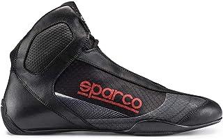 Sparco 00125648NRRS Botines para Karting, Negro/Rojo, 48