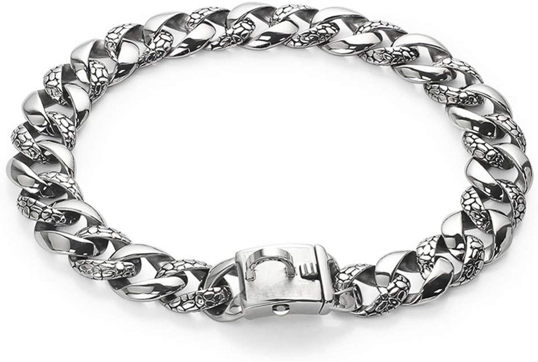 Erhuo Pet supplies pet collar leash, silver, 55cm