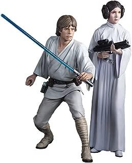 Kotobukiya Luke Skywalker and Princess Leia