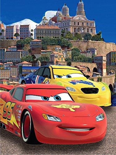 Disney Cars 3 Fleece Decke Kuscheldecke Tagesdecke 200x150cm (PBB79805)
