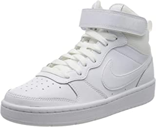 NIKE Court Borough Mid 2 (GS), Sneaker Unisex-Child