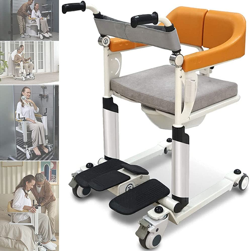 Electric Patient Transfer Lift Elderly Sale Handicapped Max 57% OFF Commode Bath