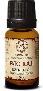 Pachuli Esencial Aceite 10ml - Pogostemon Cablin - Indonesia - 100% Puro & Natural - Belleza - Aromaterapia - Spa - Difuso...