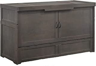 Fully Assembled Stonewash Cube Cabinet Bed