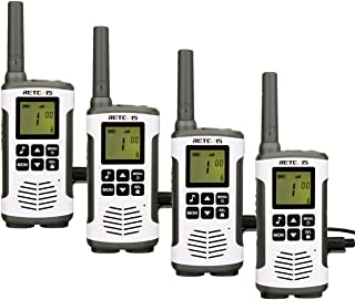 comprar comparacion Retevis RT45 Walkie Talkie Recargable PMR446 sin Licencia Linterna LED Pantalla LCD Escaneo VOX Monitor 10 Tonos de Llamad...
