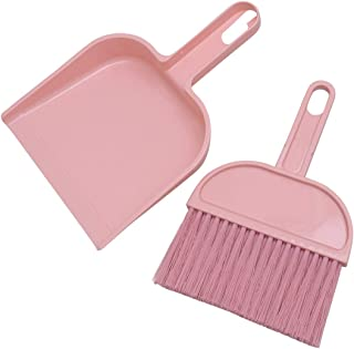 Random Color LanDream Mini Dustpan and Broom Table Cleaning Broom Keyboard Brush