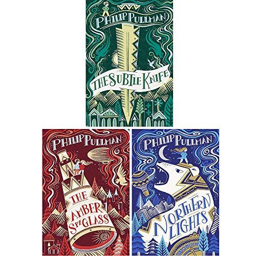 Philip Pullman His dark materials Trilogy 3 books Set Pack RRP 21.97 ( The Go...
